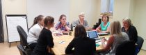 The first meeting of the participants of the pilot study at Testpunkts (transl. – Checkpoint) premises