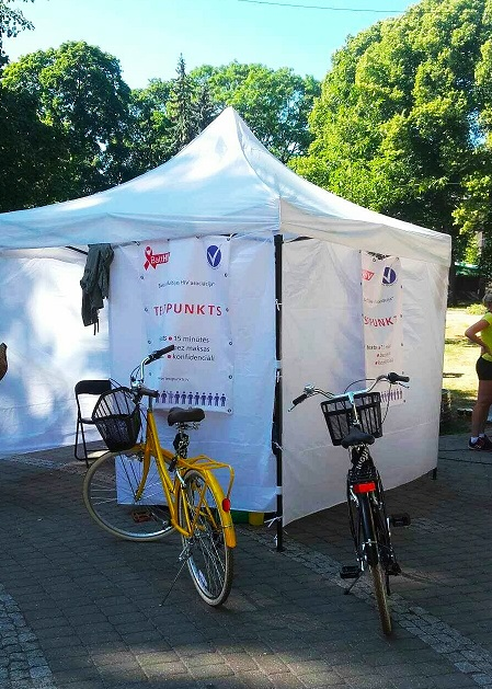 "NGO ""Baltic HIV Association"" offers HIV express test during ""Baltic Pride"""