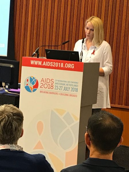 BaltHIV presents research in AIDS conference Amsterdam